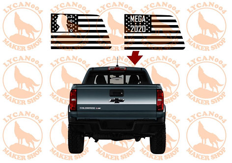 Colorado/Canyon - Trump MEGA Flag Decal