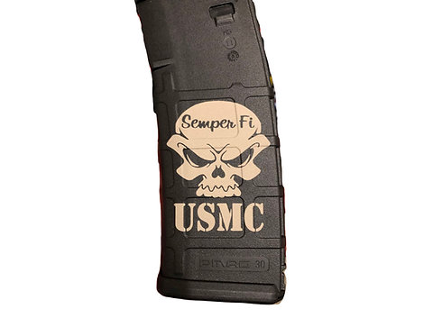 Engraved 30rd Pmags - Select from 12 Logos & 8 Colors