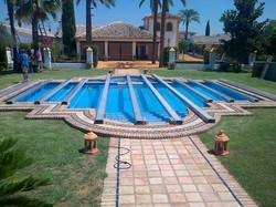 Estructura para piscina
