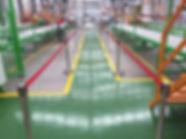 Alquiler de postes para inaguracion de fabrica