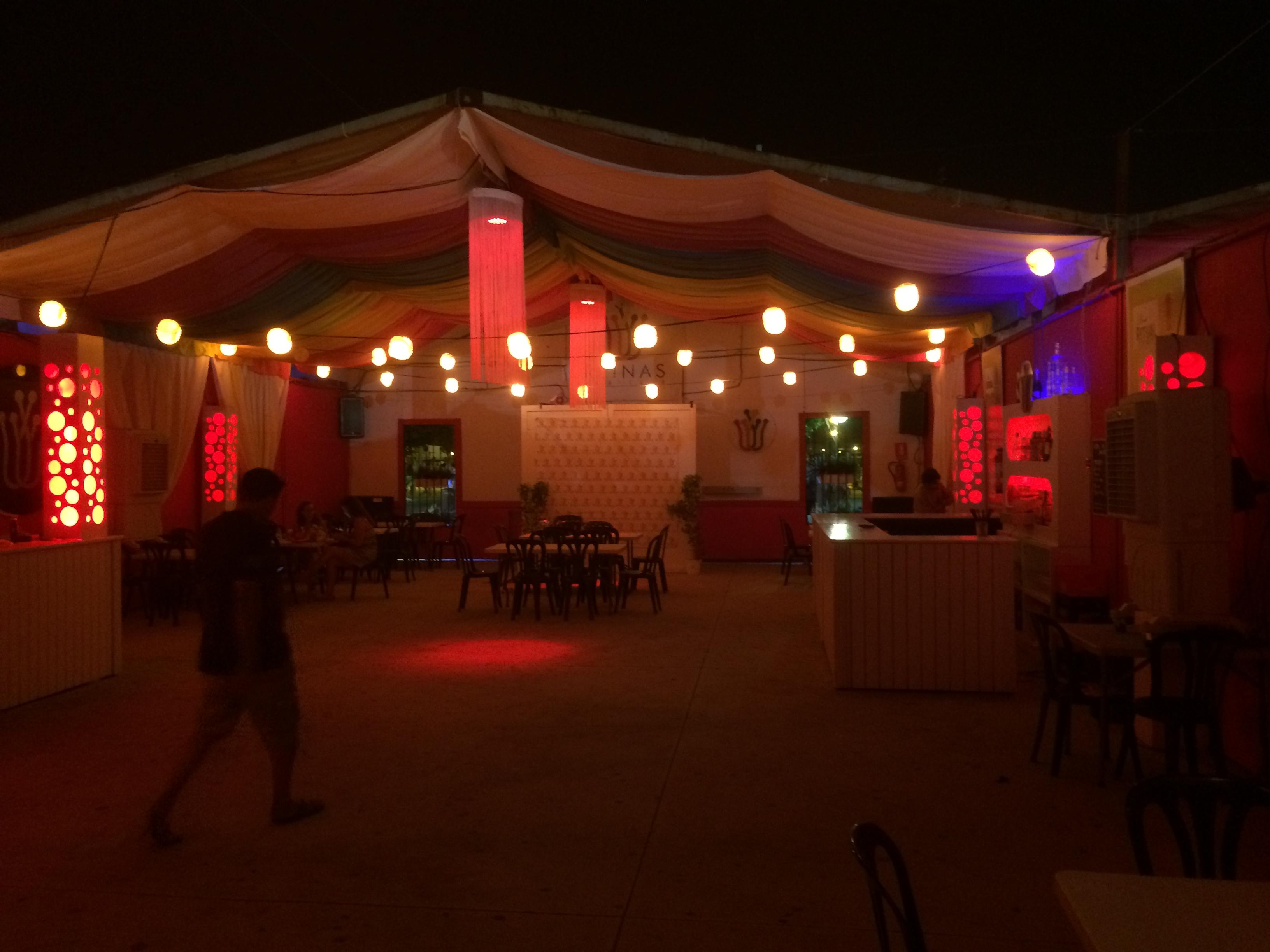 Caseta en LED Las Reynas Malaga