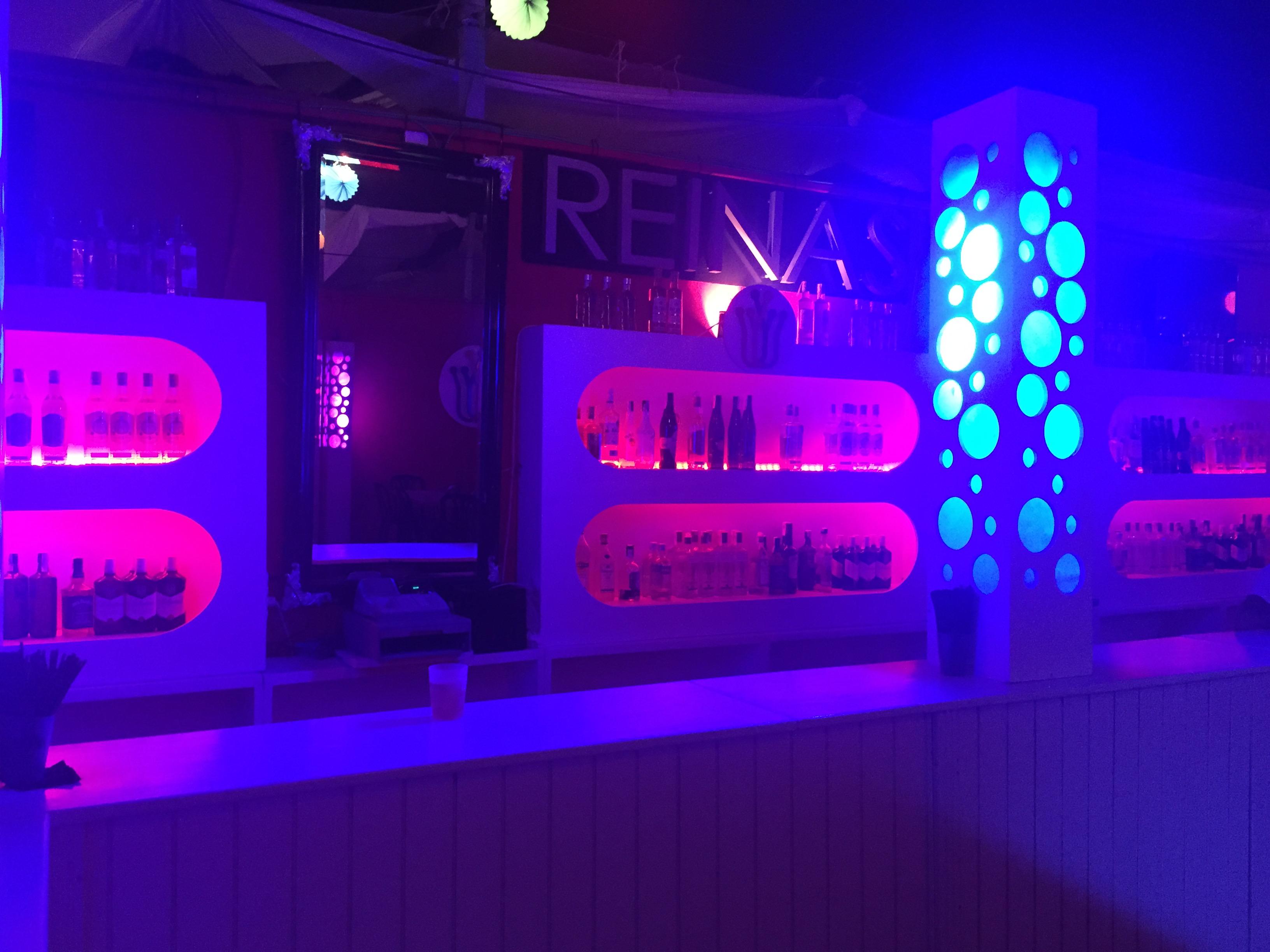 Iluminacion LED en Caseta Las Reynas