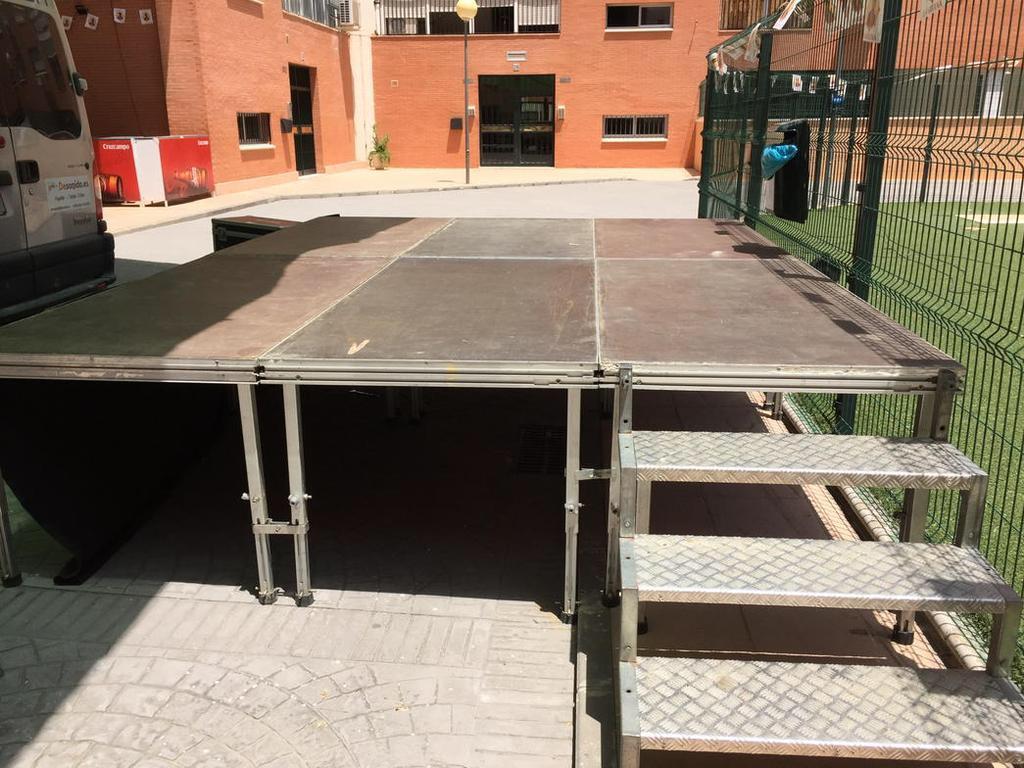 Escenario de 12 metros Sevilla