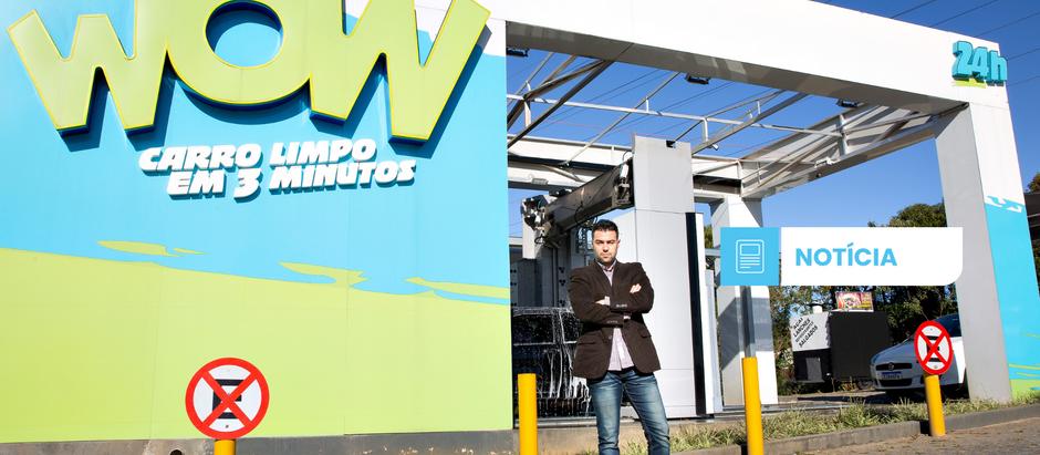 Ele fez em 1 ano o que levaria 10: faturou R$1,5 milhão e a marca de 100 mil veículos lavados.