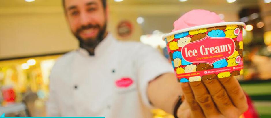 Para aumentar faturamento do franqueado, rede Ice Creamy agrega novas operações ao negócio