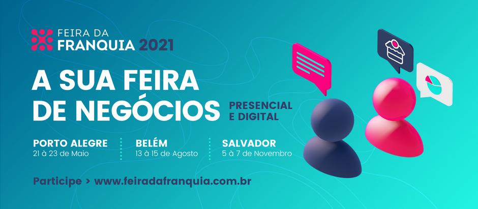 Feira da Franquia inova ao integrar evento de negócios presencial com digital