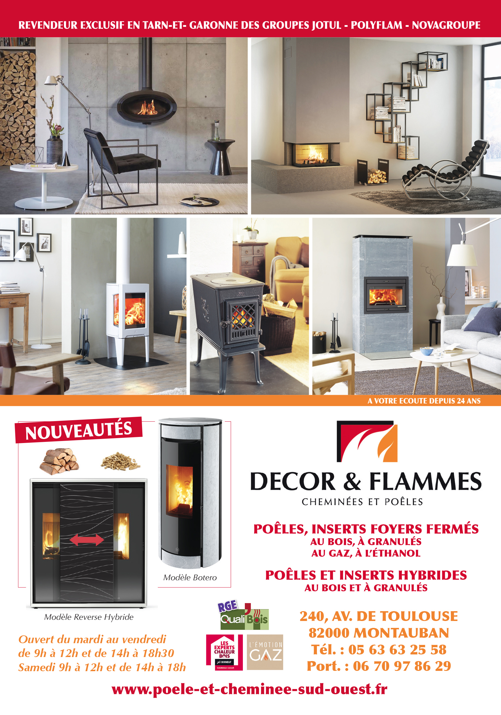 DECOR ET FLAMMES
