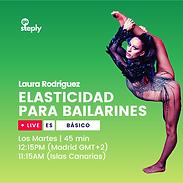 Elasticidad para bailarines/a