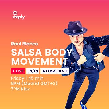 Salsa Body Movements [ES/EN]