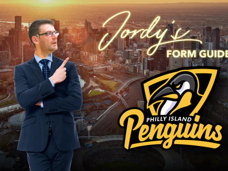 Jordy's Form Guide - Philly Island Penguins