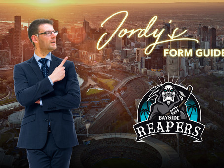 Jordy's Form Guide - Bayside Reapers