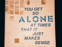 You Get So Alone At Times It Just Makes Sense by Charles Bukowski - Book Review