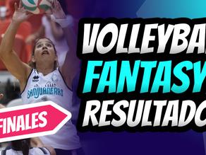 Natalia Valentín es una de las ganadoras del Volleyball Fantasy