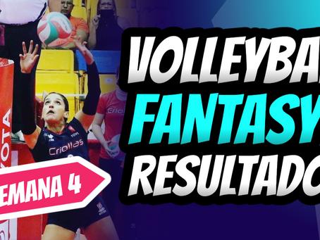 Jennifer Nogueras llega al Volleyball Fantasy | Boletín Semana 4