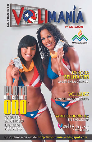 Yarleen Santiago y Dariam Acevedo   Volimania 1