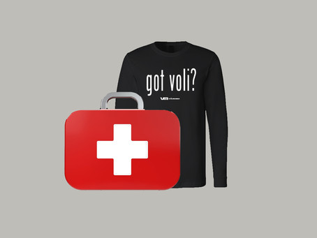 """Volleyball Emergency Kit"" que debes tener"