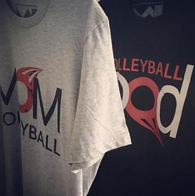 #VolleyballMom y #VolleyballDad #tshirts