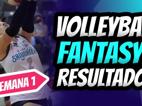 Debora Seilhamer dominando el Volleyball Fantasy en Semana 1