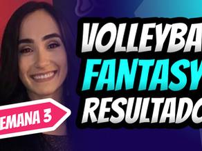 Valeria Leon en la primera posición de Puntos Fantasy por Set   Categoria Libero