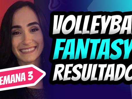 Valeria Leon en la primera posición de Puntos Fantasy por Set | Categoria Libero