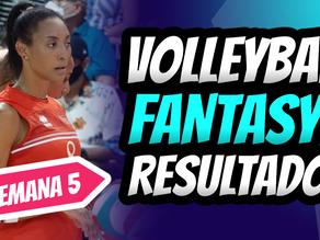 Dominio Total de Aury Cruz   Volleyball Fantasy Semana 5