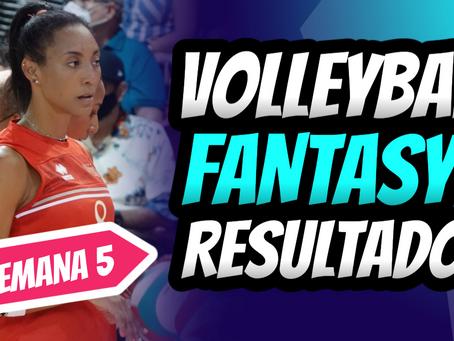 Dominio Total de Aury Cruz | Volleyball Fantasy Semana 5