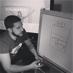 #behindthescene de nuestro próximo video en #coachingVoli y promo de #Volimania7 - #somosVoli_------