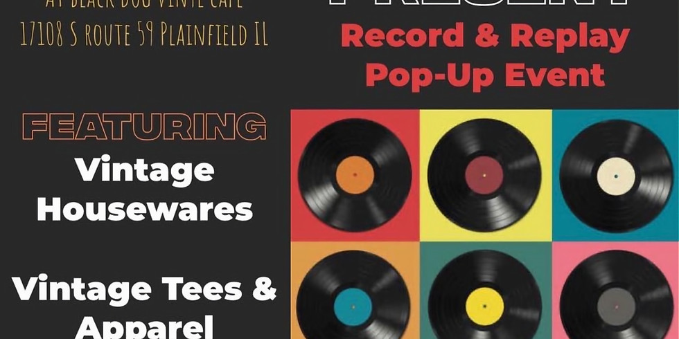 Record & Replay Pop Up Event