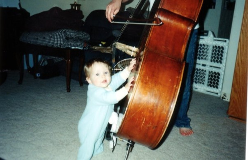 my 1st and my bass...