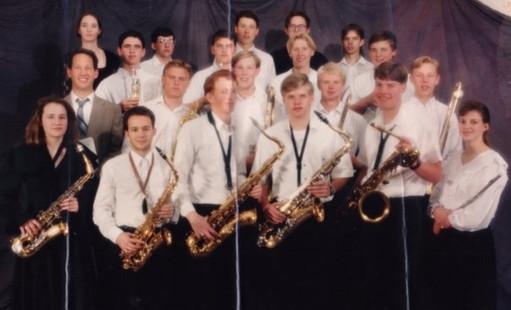 Uintah High Jazz Band 93-94