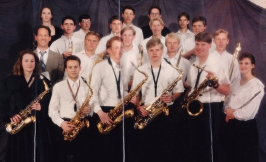 Uintah High Jazz Band 93-94