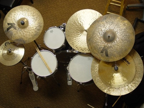 my cymbals are most likely nicer than yours...