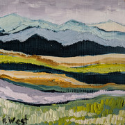 Over the Meadow-- SOLD