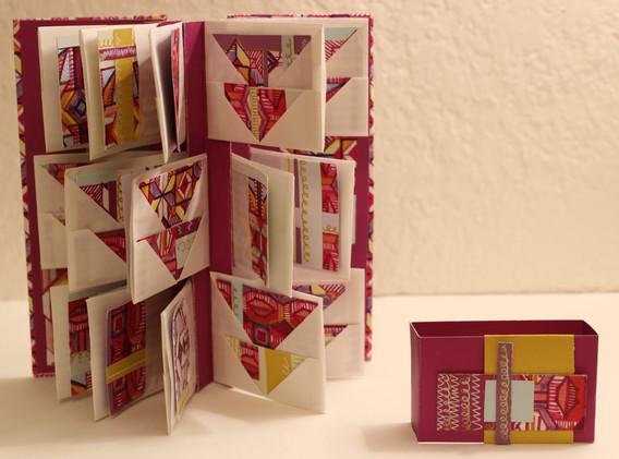 Pink Folio Pocket Flag Book