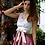 Thumbnail: Kleid ROMY mit Schleife, kiesel/altrosé