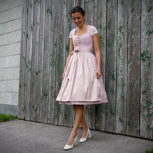 Hochzeitsdirndl ADELINA rosé/sand