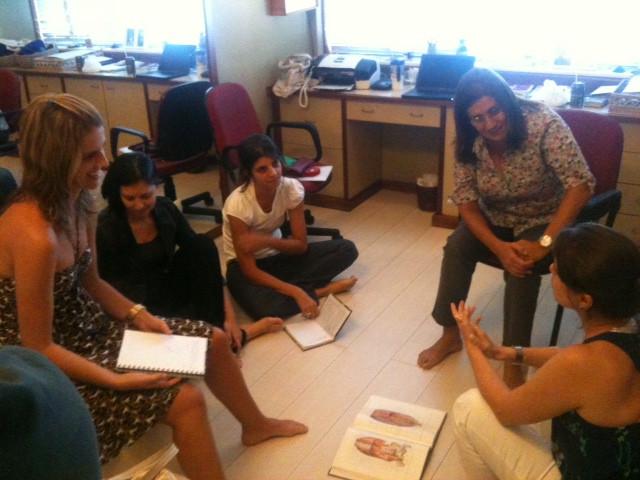 Grupo de estudos, 2012