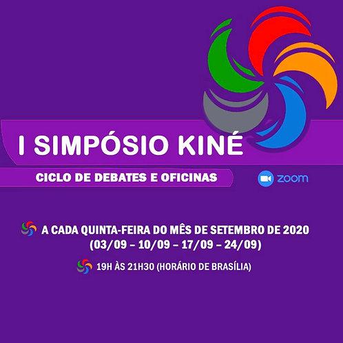I Simpósio Kiné - Ciclo de debates e oficinas