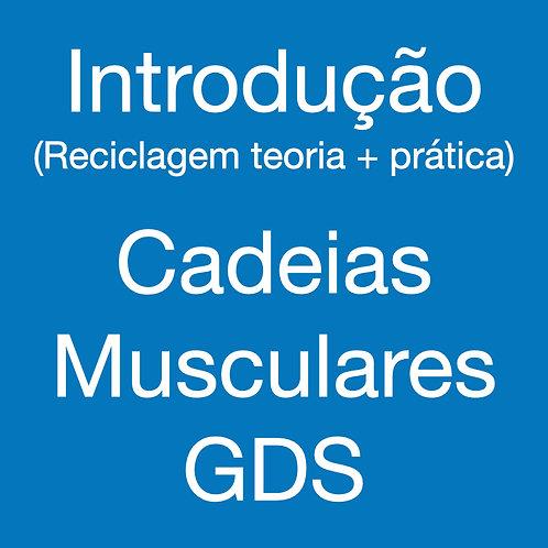 Introdução às Cadeias GDS - Reciclagem teoria + prática