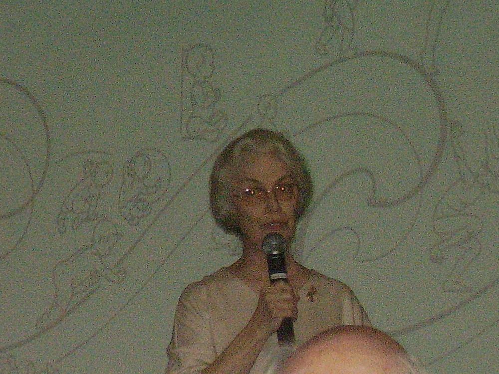 Godelieve Denys Struyf ... Conferência em Congresso GDS - Granada 2005