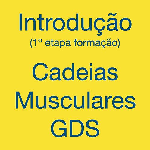 Formação Cadeias Musculares e Articulares GDS - Introdução