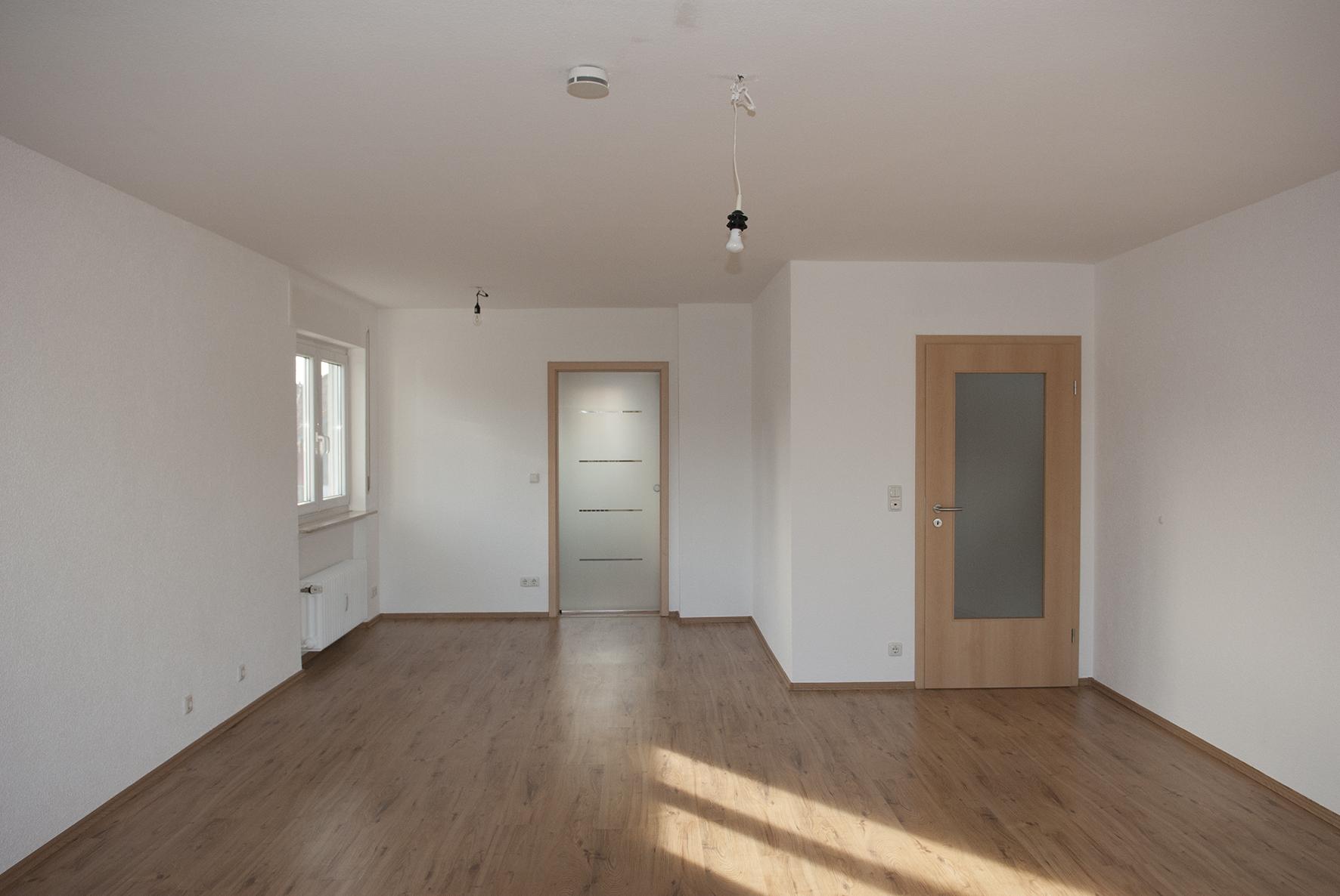 Ess-/Wohnzimmer vorher