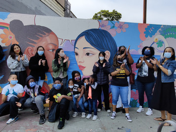 Youth Unity Mural in Bayview-Hunters Point   青年團結壁畫