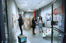 Installation view of New Urban Legend Resistance of Space. Courtesy of Chinese Culture Center of San