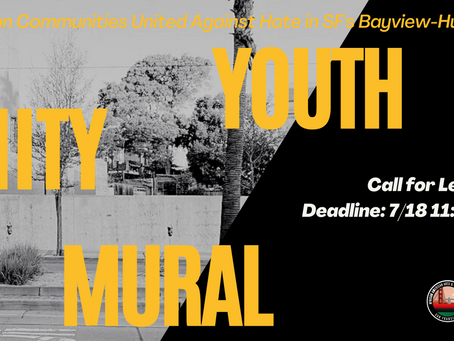 ARTISTS OPEN CALL  - Youth Unity Mural
