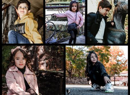 AutumnLook2019: Kids Fashion   Models   Kids Photoshoot