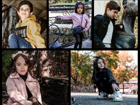 AutumnLook2019: Kids Fashion | Models | Kids Photoshoot