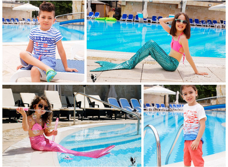 Summer Time| Photoshoot | Kids Fashion | Pool Time