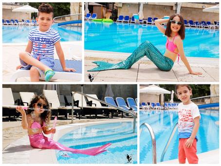 Summer Time| Photoshoot | Kids Fashion | Pool Time