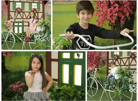 Spring: Kids Photoshoot Kids Fashion
